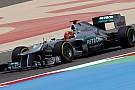 Schumacher perde cinque posizioni in griglia