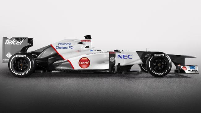 Il calcio arriva in F1: partnership Sauber-Chelsea!