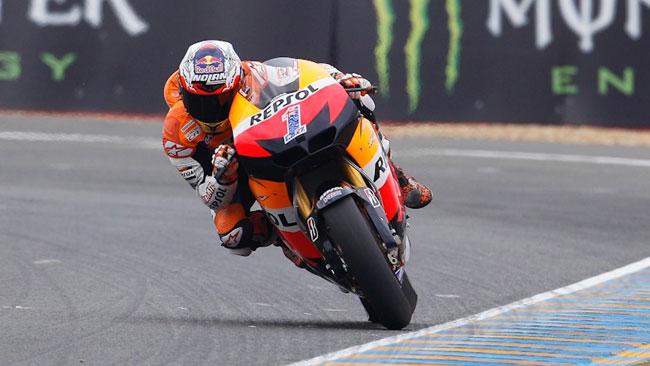 Le Mans, Libere 2: Stoner guida la doppietta Honda