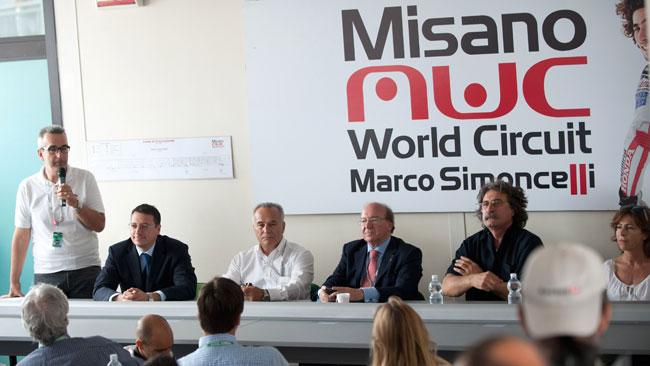 Misano ufficialmente intitolata a Marco Simoncelli