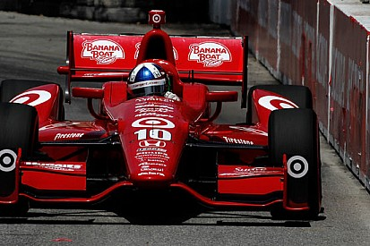 Franchitti in pole, Power battuto per due centesimi