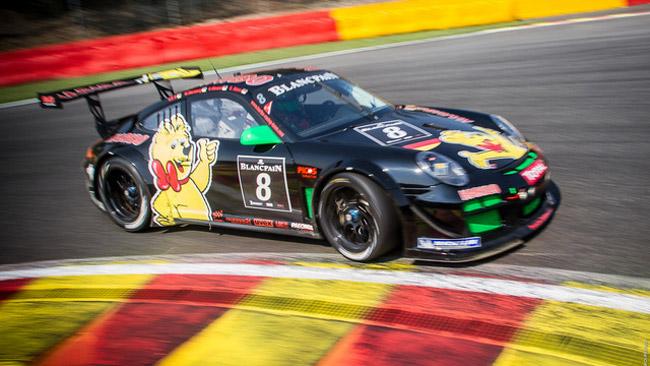 Porsche al top nelle libere della 24 Ore di Spa