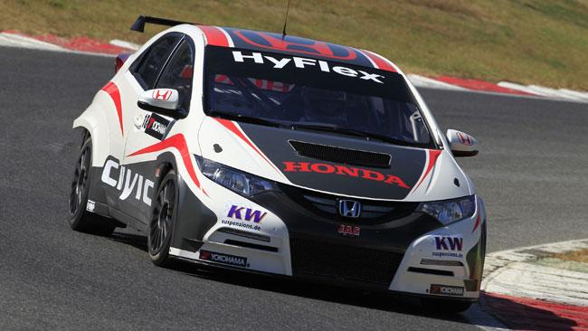 Honda Civic WTCC: l'avventura è cominciata!