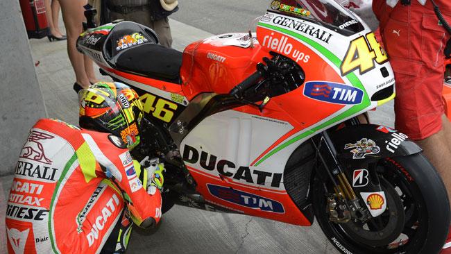Tribune aperte per i test Ducati a Misano