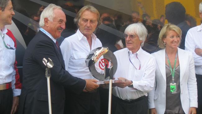 A Montezemolo il Bernie Ecclestone Award 2012
