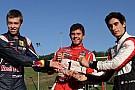 Kvyat, Nato e Chatin: corsa a tre per il titolo 2012