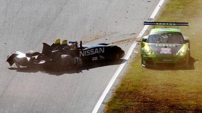 Brivido per la DeltaWing nei test della Petit Le Mans