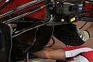 Ferrari: sostituiti i deviatori di flusso sotto al telaio