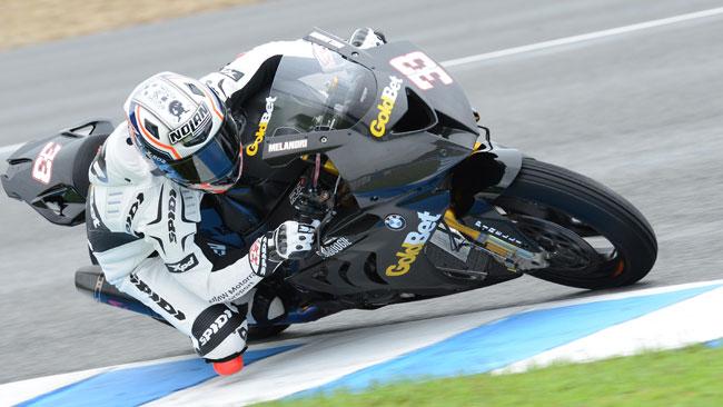 Il maltempo rallenta i test della BMW a Jerez