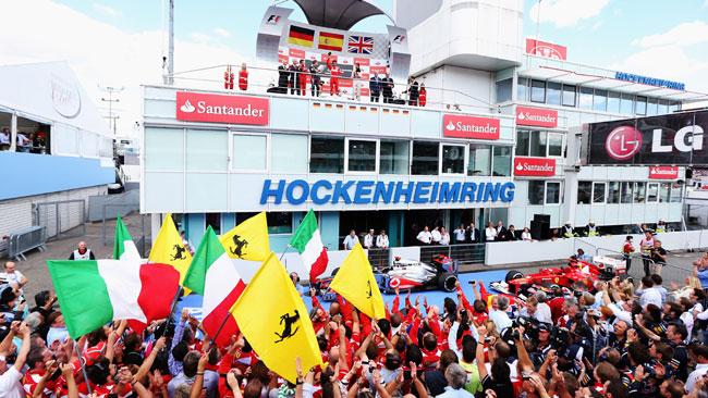 Hockenheim si candida al posto del Nurburgring