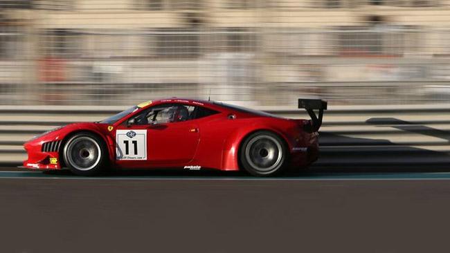 Gulf 12 Hours: la Ferrari AF Waltrip in pole position