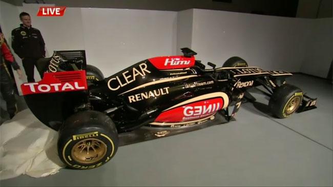 Ecco la prima immagine della Lotus E21