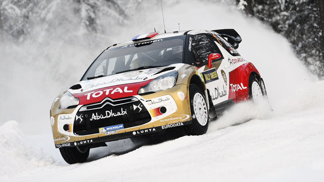 Svezia, PS12: Loeb prova a rifarsi sotto ad Ogier