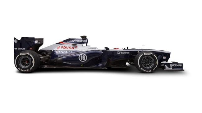 Ecco la prima immagine della Williams FW35