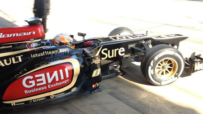 Barcellona, Day 3, Ore 15: Grosjean torna sulla Lotus