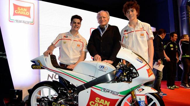 Presentato ufficialmente il San Carlo Team Italia