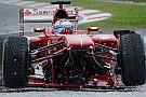 Ferrari F138: a cosa servono i cablaggi strappati?