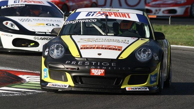 Vittorio Bagnasco al via con il Centro Porsche Padova