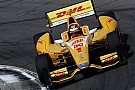 Hunter-Reay piega Power nelle qualifiche del Barber