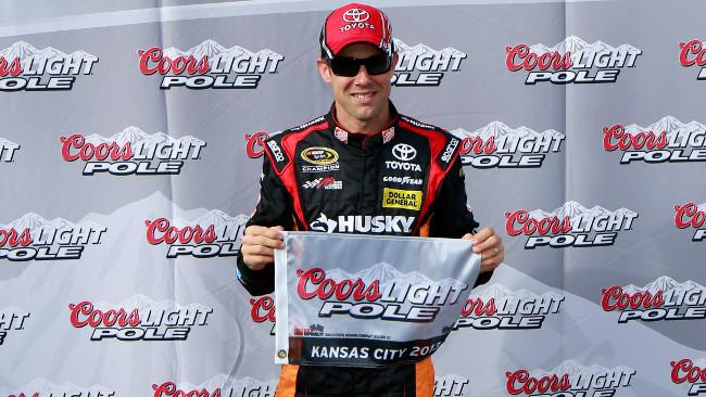 Record della pista per Matt Kenseth a Kansas