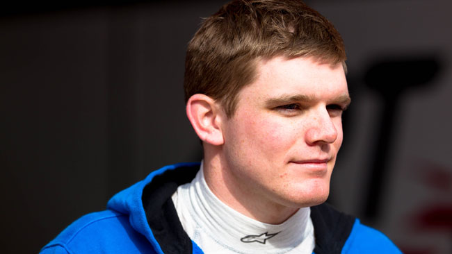 Test aerodinamico con la Force India per Conor Daly