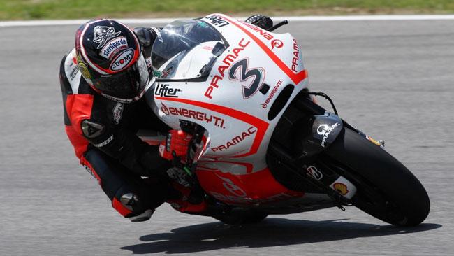 Max Biaggi fa progressi sulla Ducati al Mugello