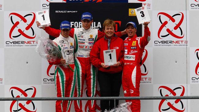 Luca Ghiotto guida la tripletta Prema in gara 2 a Spa