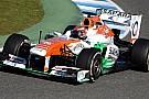 Rossiter sulla Force India nelle libere di Silverstone