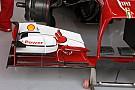 Solo Alonso ha provato la nuova ala anteriore