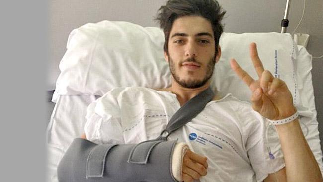 Axel Pons operato al braccio destro a Barcellona