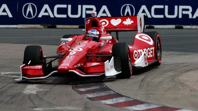 Prima fila tutta Ganassi Racing in gara 2 a Toronto
