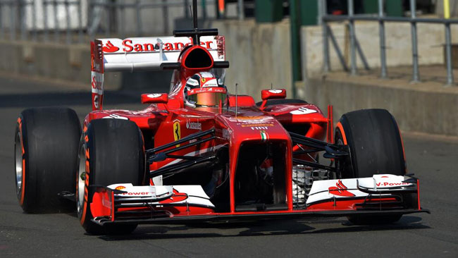 Tante prove comparative aerodinamiche per la Ferrari