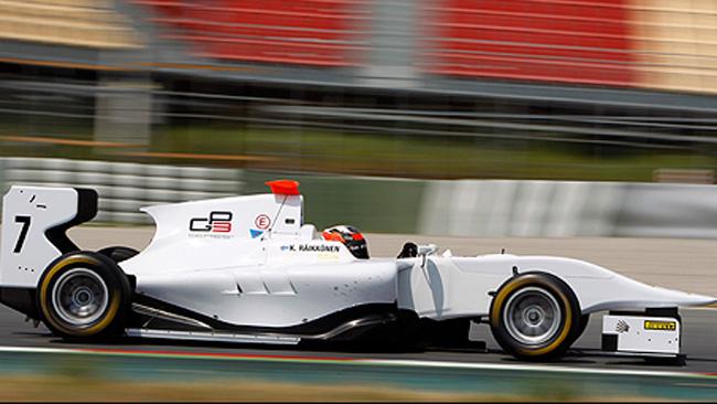 Raikkonen ha sviluppato la Gp3 a Barcellona