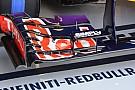 La Red Bull senza upper flap mostra sette soffiaggi!