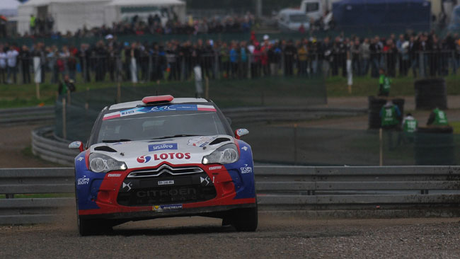 Polonia, PS2: Kubica sale al terzo posto!