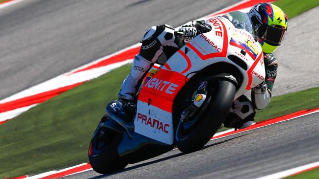 Ecco Yonny Hernandez in sella alla Ducati