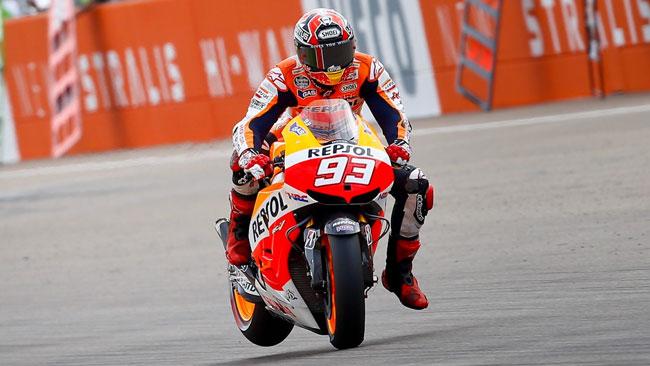 Marc Marquez ritrova la vittoria a Motorland Aragon