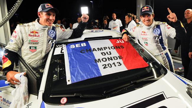 Ogier celebra il Mondiale vincendo il Rally di Francia