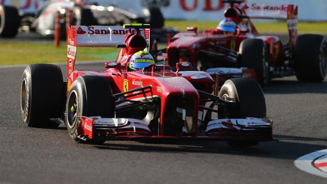 Ferrari: l'ordine non basta a tenere il secondo posto
