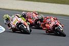 Iannone si inserisce in mezzo alle due Ducati ufficiali