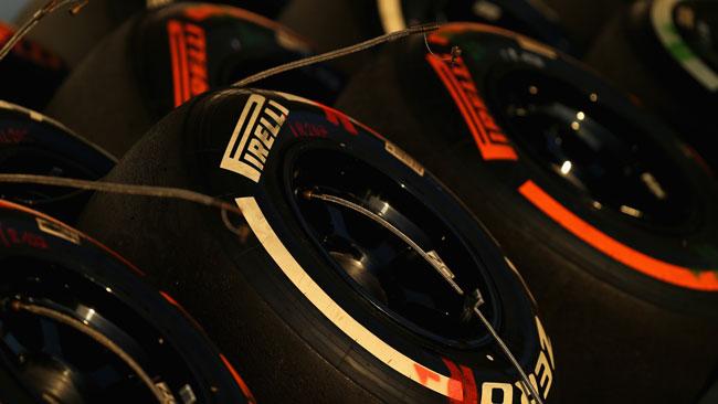 Le Pirelli 2014 in pista nelle libere di Interlagos