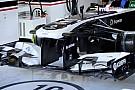 Williams: spunta anche l'ala anteriore del 2012!