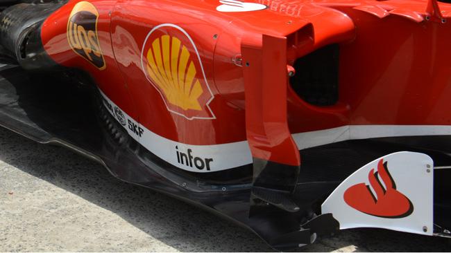La Ferrari insiste sul deviatore di flusso a ponte