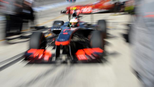 La McLaren rinuncia alla sospensione pull rod!