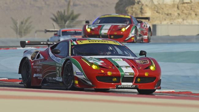 Gimmi Bruni e la Ferrari campioni del mondo GTE-Pro!