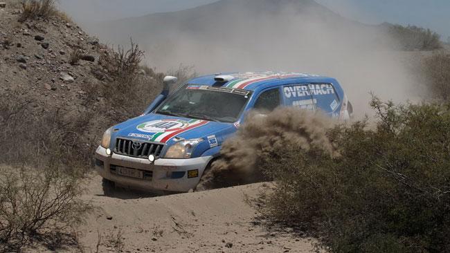 Dakar: seconda tappa ancora difficile per i Cinotto