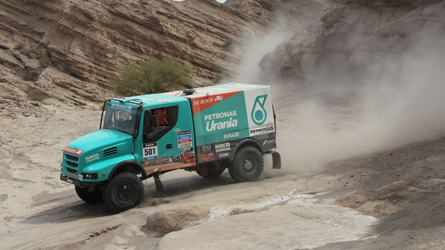 Dakar, Camion, Tappa 4: De Rooy prende il largo!