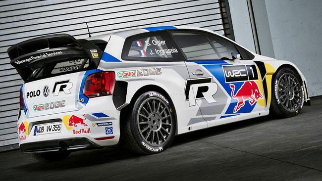 Ecco la nuova livrea delle Volkswagen Polo R WRC