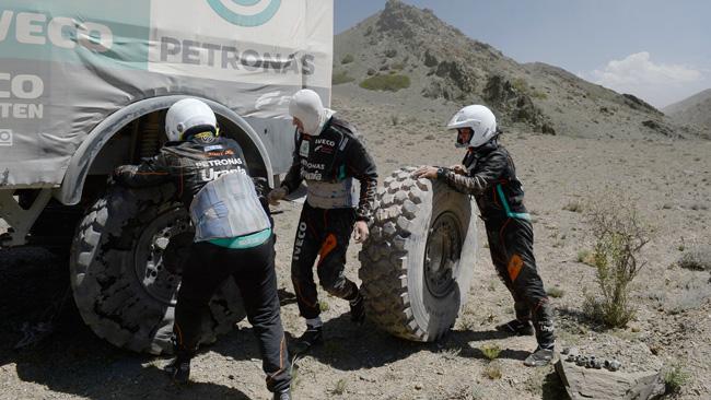 Dakar: Hans Stacey non si arrende ai problemi!