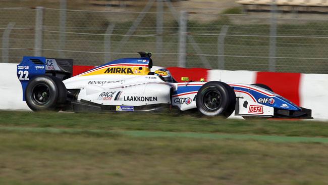 Matias Laine resta alla Strakka Racing nel 2014